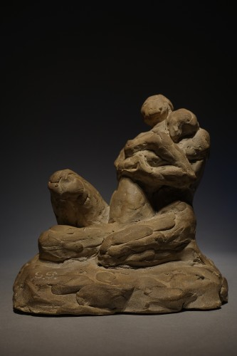 intertwined lovers - Georges Petit (1879 - 1958) -