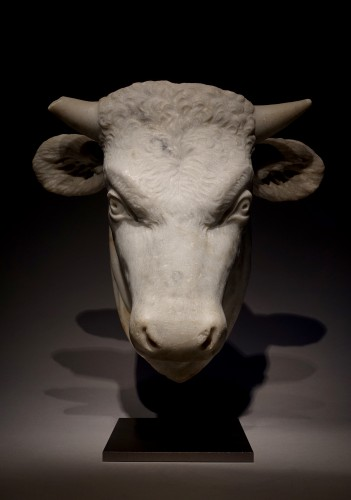 Head of a Bull - Sculpture Style
