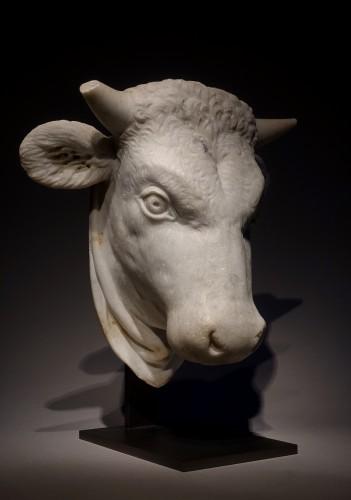 Sculpture  - Head of a Bull