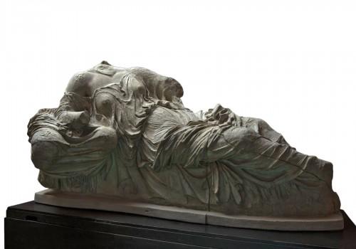 Monumental plaster of Thalassa and Gaia