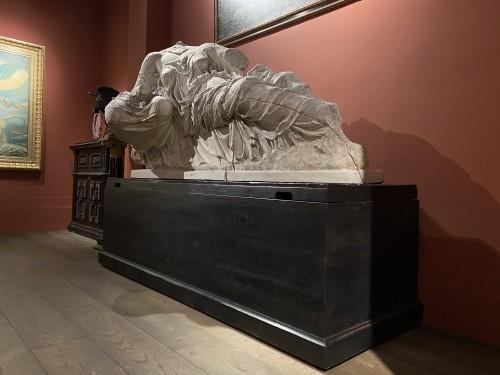 Sculpture  - Monumental plaster of Thalassa and Gaia