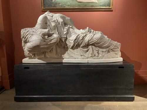 Monumental plaster of Thalassa and Gaia -