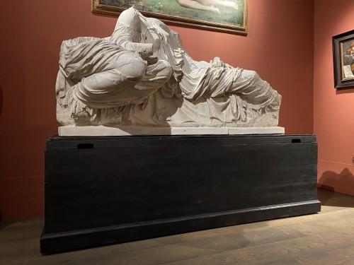 - Monumental plaster of Thalassa and Gaia
