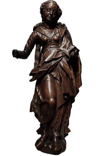 statuette of the Virgin, South-German circa 1600