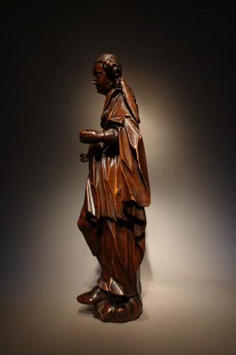 Sculpture  - statuette of the Virgin, South-German circa 1600