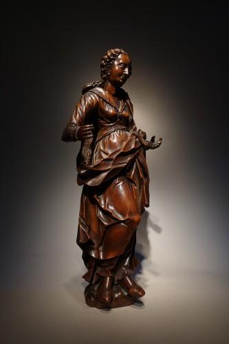 <= 16th century - statuette of the Virgin, South-German circa 1600