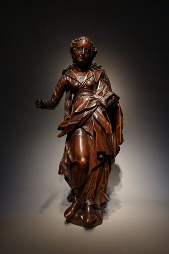 Renaissance - statuette of the Virgin, South-German circa 1600