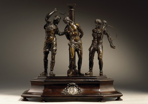 Flagellation of Christ, Italy early 17th century - Sculpture Style Renaissance