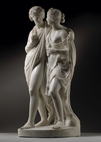 Bacchus and Ariadne - Sculpture Style