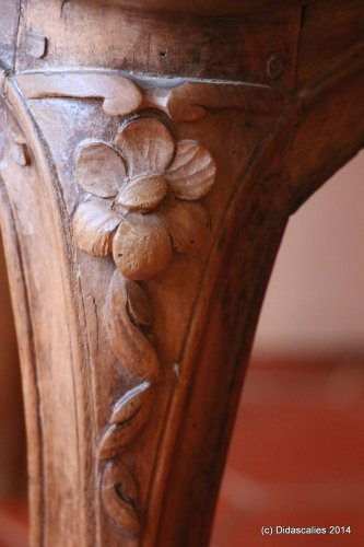Antiquités - Set of 6 Louis XV cabriolet armchairs