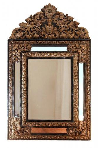 Miroir ancien glace miroir et trumeau antiquit s for Miroir store