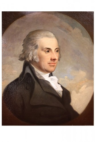 Portrait de Lord Edward James Eliot  - Anton HICKEL (1745-1798)