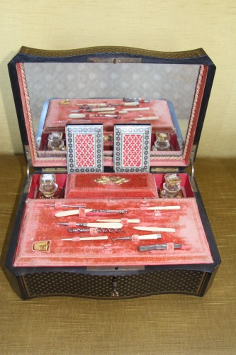 Travel kit, Charles X period - Curiosities Style Restauration - Charles X