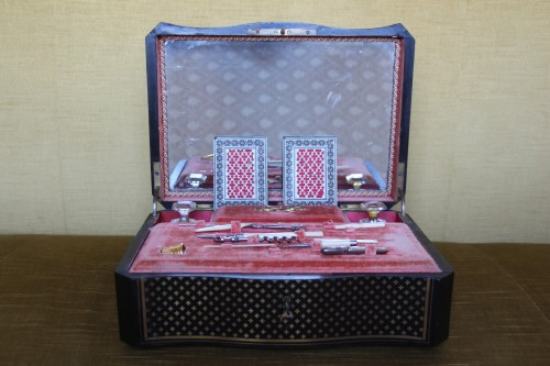 Curiosities  - Travel kit, Charles X period