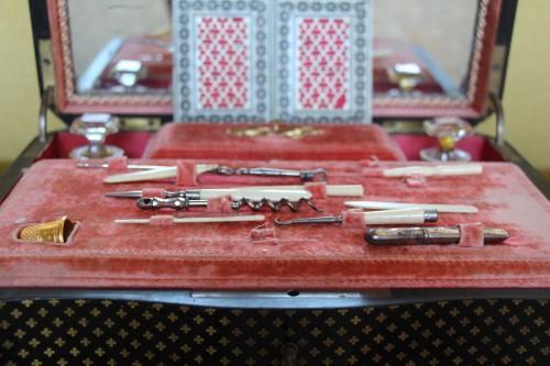 Travel kit, Charles X period -