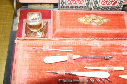 19th century - Travel kit, Charles X period