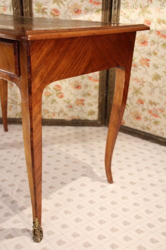 Furniture  - Writing table Louis XV stamped Pierre BONNEMAIN