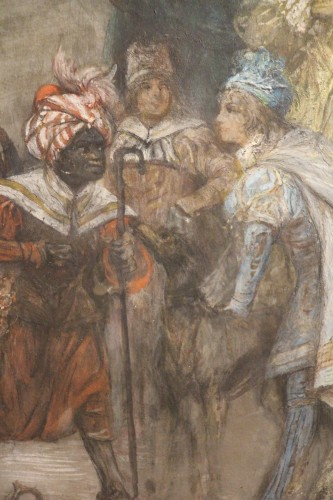 Art nouveau - Carnival of Venice - Georges Clairin (1843-1919)