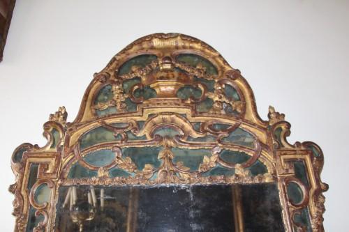 Large Louis XV mirror   - Louis XV