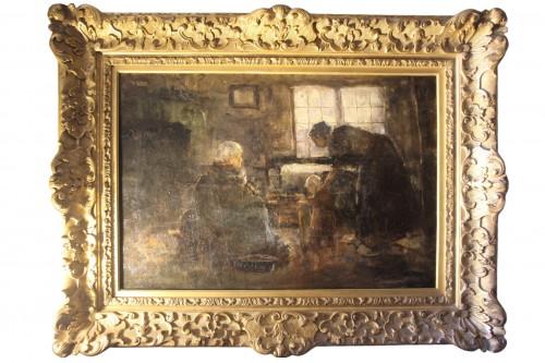 reading - Northern school 19th century
