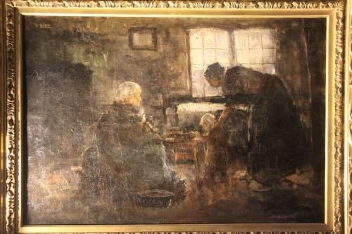 reading - Northern school 19th century -