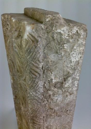 Marble frieze -
