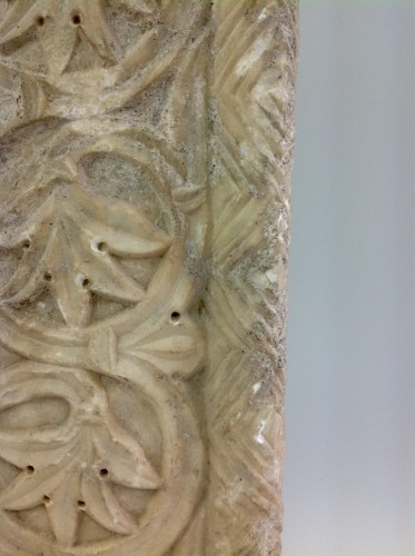 Marble frieze - Middle age