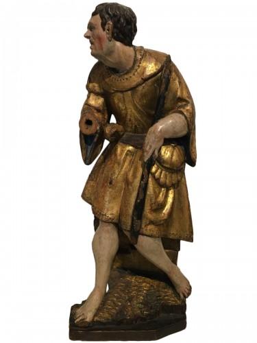 Altarpiece representing a shepherd circa 1520