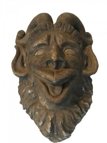 Mascaron de Pan (Paris?) - vers 1850
