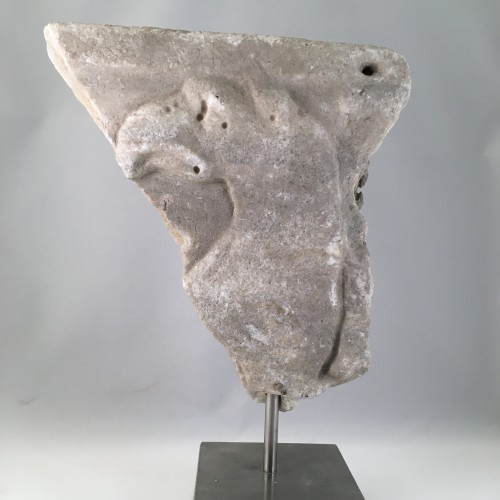 Architectural & Garden  - An Etruscan (Italian) fragment in marble - 4th Century BC