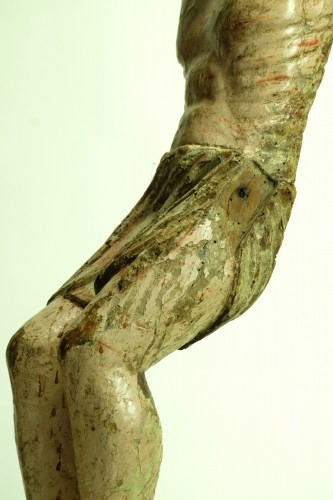 15th century Spanish corpus in chestnut wood - Middle age