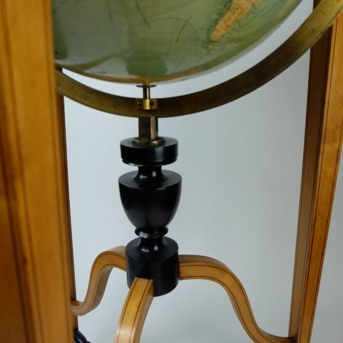 - 19th Century globe of Ernst Schotte (Berlin) in the German language