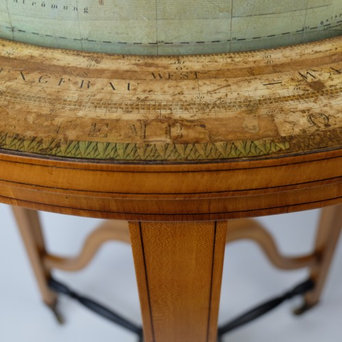 Antiquités - 19th Century globe of Ernst Schotte (Berlin) in the German language