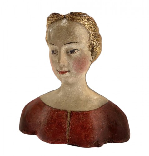 Bust of a young noble lady Italy (Tuscany?) - XVIth century