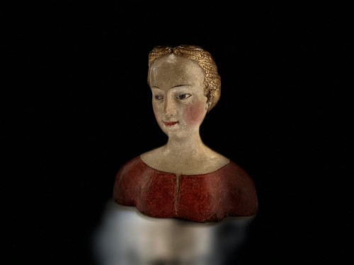 Bust of a young noble lady Italy (Tuscany?) - XVIth century -