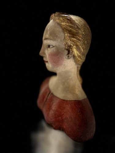 Antiquités - Bust of a young noble lady Italy (Tuscany?) - XVIth century