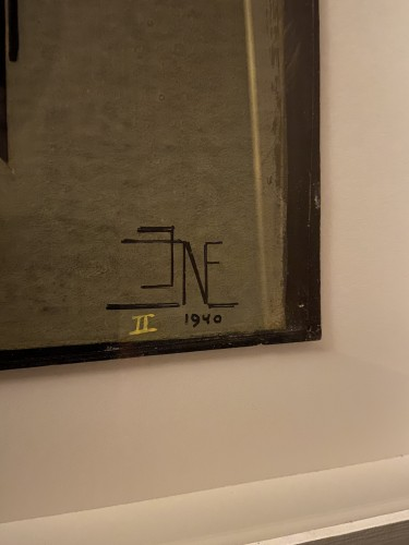 Antiquités - 4 designs - J.J.N.Exter - dated 1940 - Exhibited 'Rijksmuseum Amsterdam'