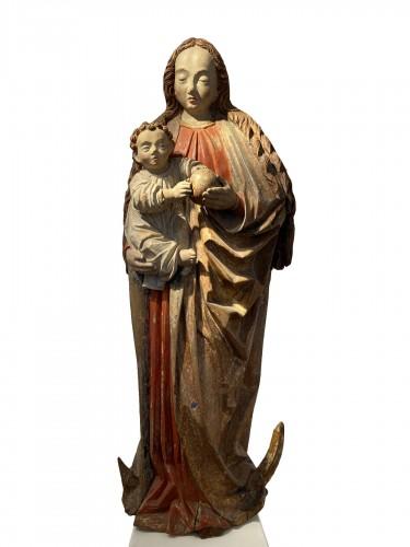 Virgin with child -  ca. 1480 - Lower Rhine Westphalian