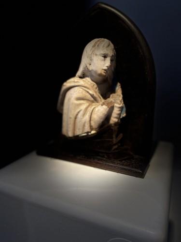 A fragment of a rondella - ceramic - workshop Della Robbia (?) - ca. 1480 - Renaissance