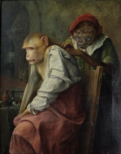 'Onderzoeking' (medical examination) - 1933 - Jos Schippers (1868-1950)