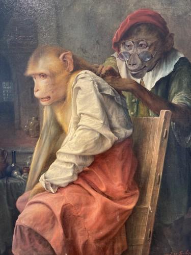 'Onderzoeking' (medical examination) - 1933 - Jos Schippers (1868-1950) -