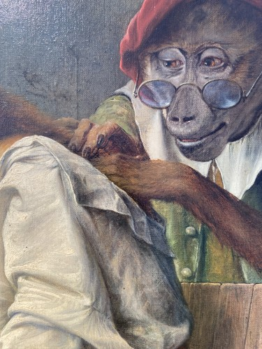Antiquités - 'Onderzoeking' (medical examination) - 1933 - Jos Schippers (1868-1950)
