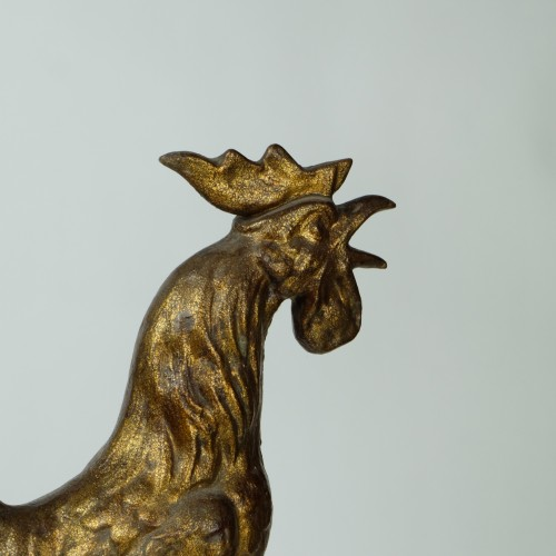A very decorative 19th century tower rooster -