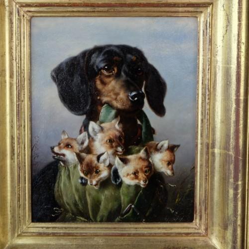 Paintings & Drawings  - The Trophy - Carl Reichert (1836-1918)