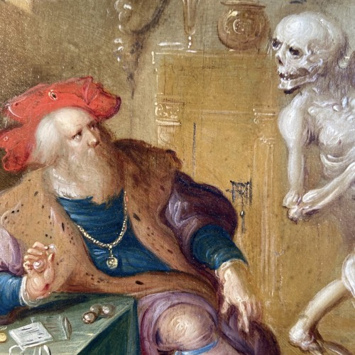 Paintings & Drawings  - An allegory of the transitoriness by Frans Francken II (Flemish painter)