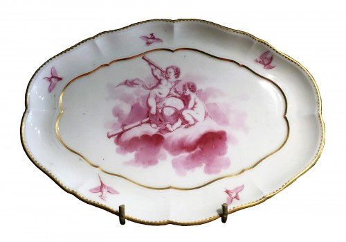 Sèvres soft-paste tray ('Plateau du Roy'), dated 1760