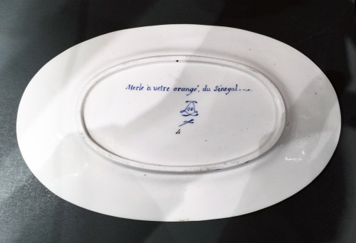 Antiquités - Sèvres soft-paste porcelain sugar-bowl with yellow ground, dated 1791