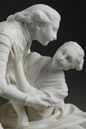 'La Fée Urgèle', Sèvres soft-paste biscuit group, circa 1767-1773 -