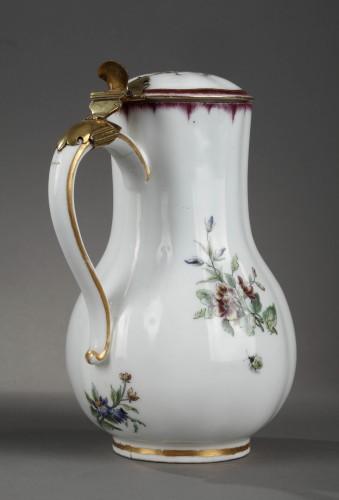 Very rare Vincennes soft-paste porcelain ewer and basin, circa 1749-1750 - Louis XV