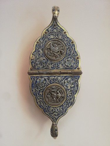 Religious Antiques  - Gilded and enameled incense burner